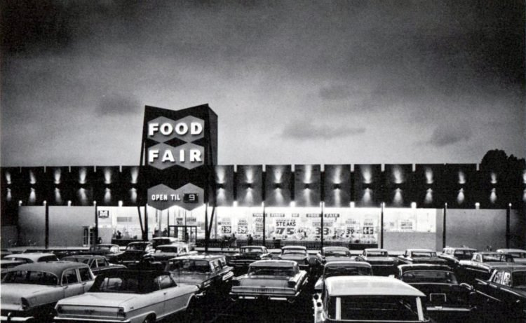Food Fair vintage grocery store - 1963 2
