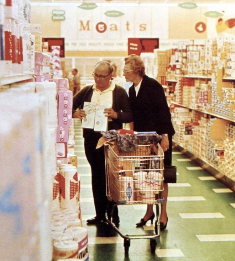 Food Fair vintage grocery store - 1967 16