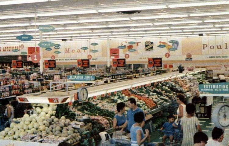 Food Fair vintage grocery store - 1967 9
