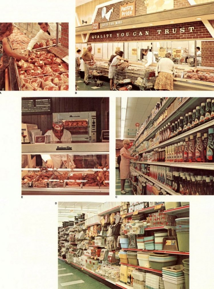Food Fair vintage grocery store - 1968 9