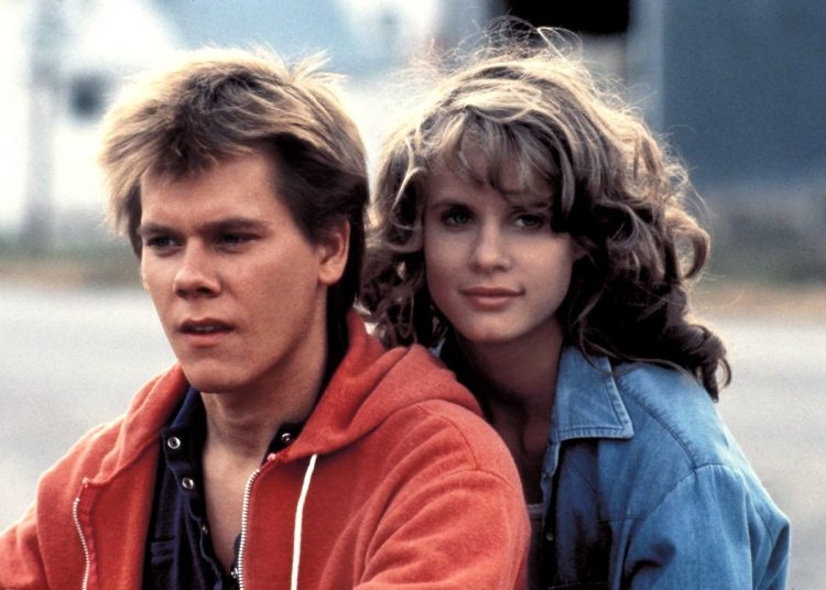 Footloose stars - Kevin Bacon and Lori Singer