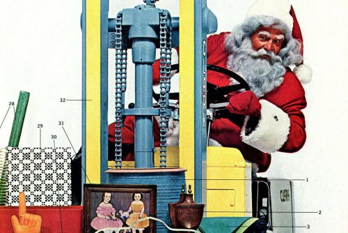 For a merry vintage Christmas Creative holiday gifts for the mid-century home, from 1964