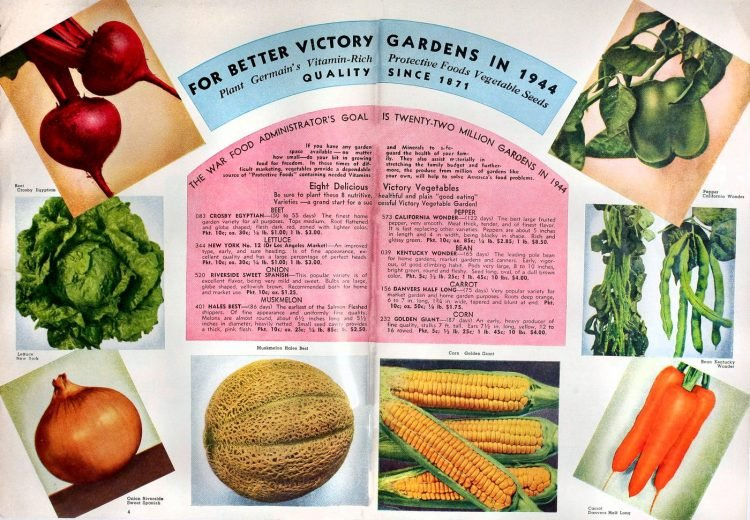For better Victory Gardens in 1944