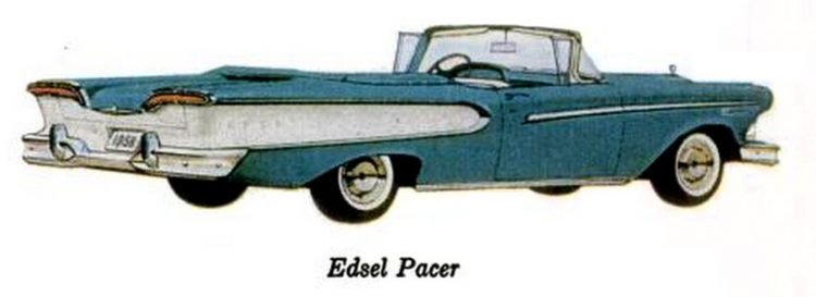 Ford Edsel convertibles (1)