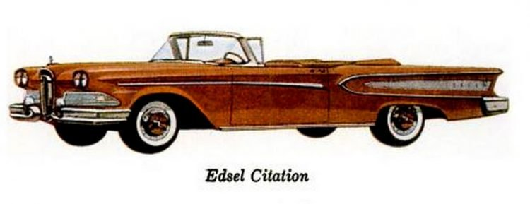 Ford Edsel convertibles (2)