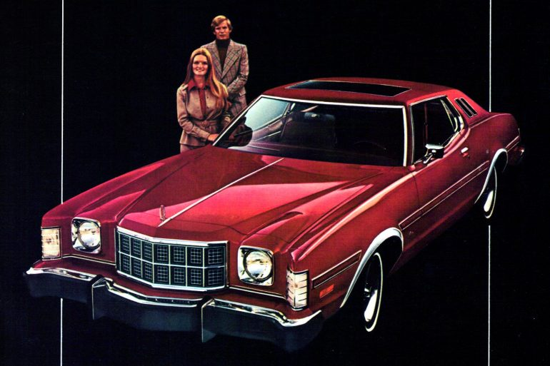 Ford Elite cars from the 1970s