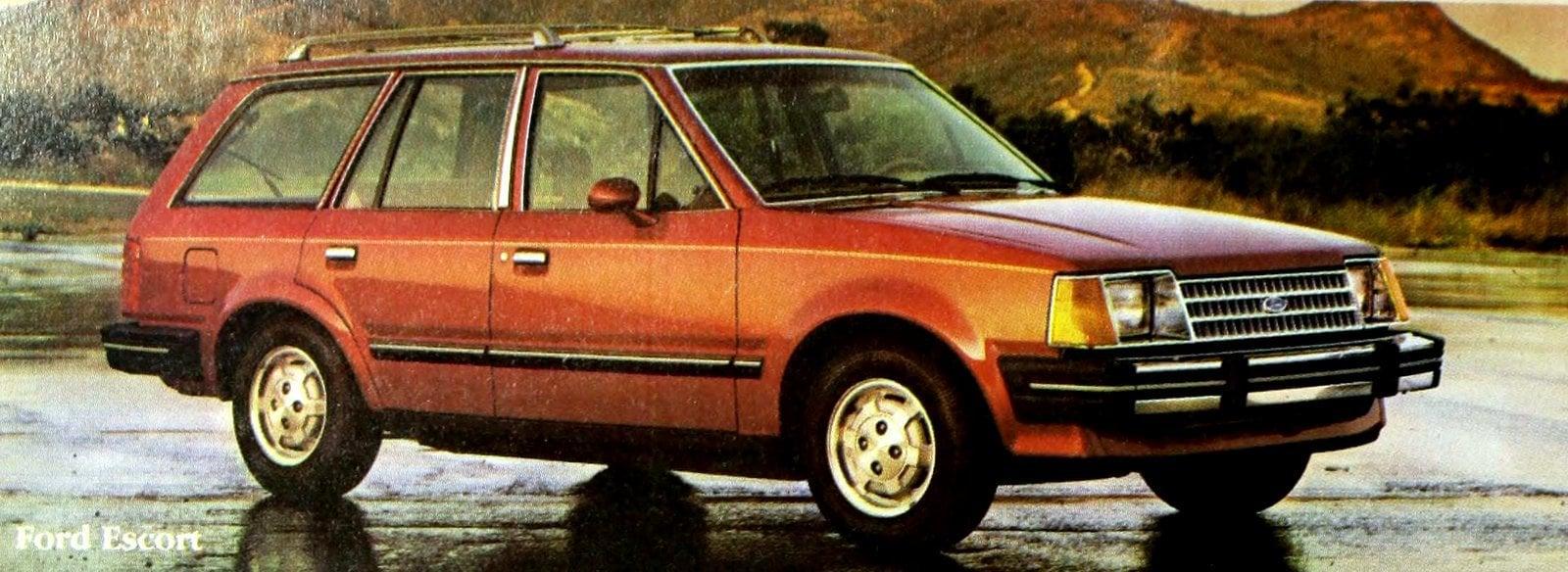Ford Escort wagon. A small wonder (1984)