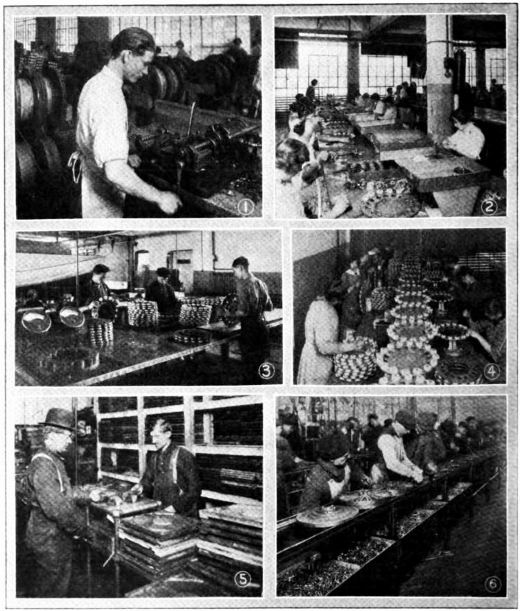 Flywheel Magneto Department - Ford assembly lines