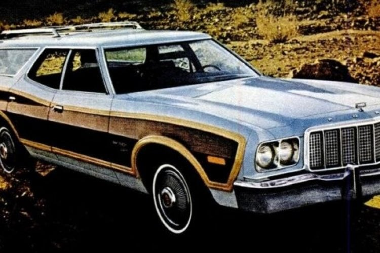 Ford Gran Torino Squire station wagons (1973-1974) - Click