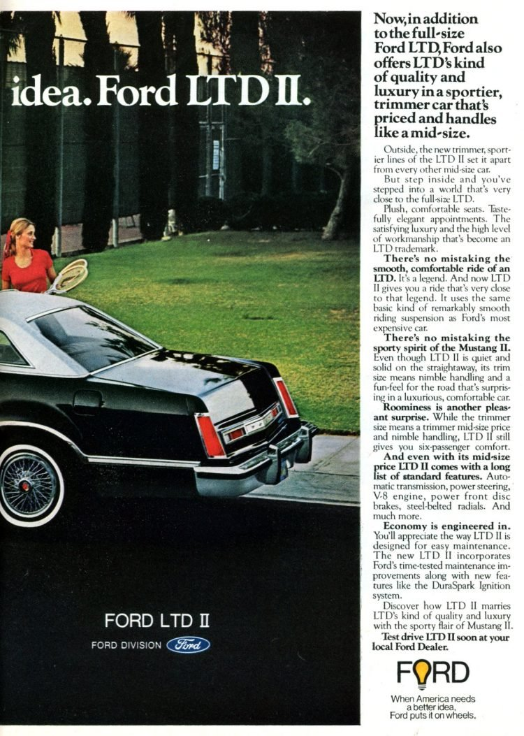 Ford LTD II cars for 1977 from 1976 (1)