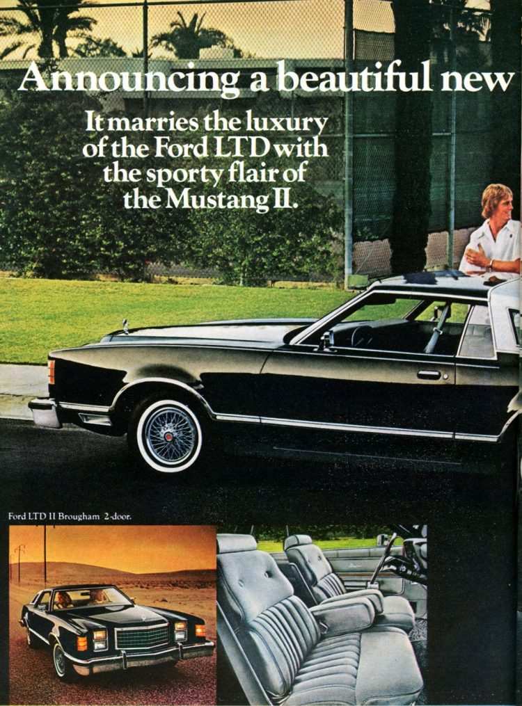 Ford LTD II cars for 1977 from 1976 (2)