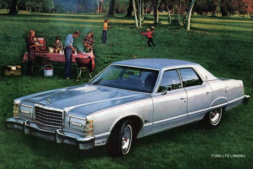 Ford LTD and LTD II cars from the late '70s