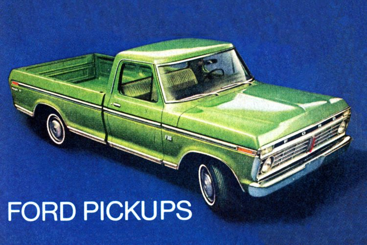 Ford Pickups from the 70s