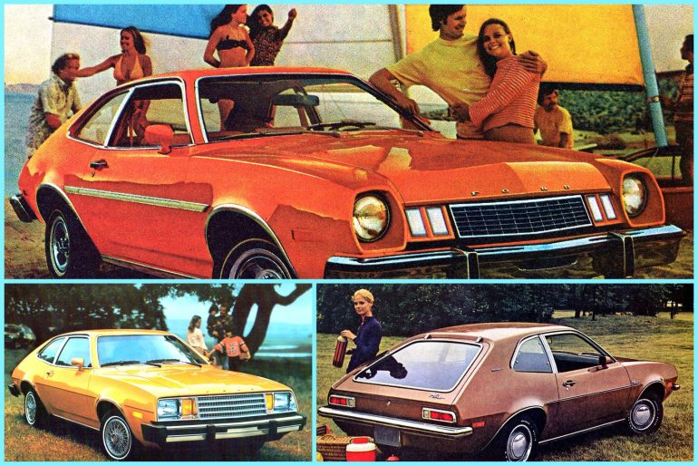 Ford Pinto The bestselling sub-compact economy car from the '70s & '80s