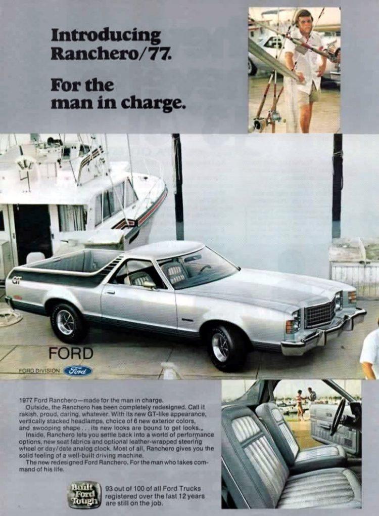 Ford Ranchero 77