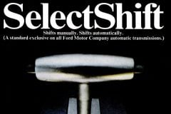 Ford Select Shift gear shift - cars from 1967-001