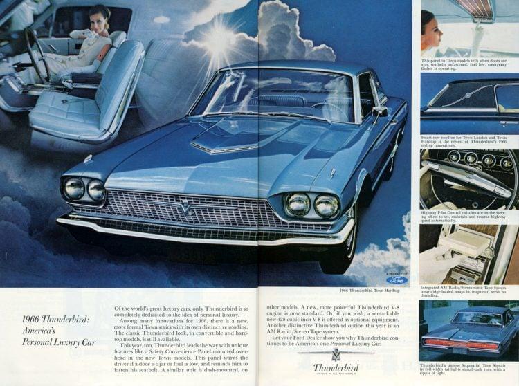 Ford Thunderbird for 1966 (1)