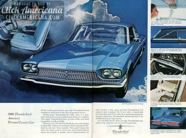 Ford Thunderbird for 1966 (1)