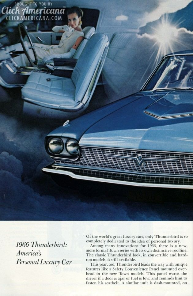 Ford Thunderbird for 1966 (2)