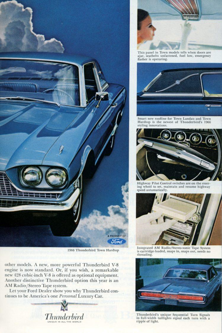 Ford Thunderbird for 1966 (3)