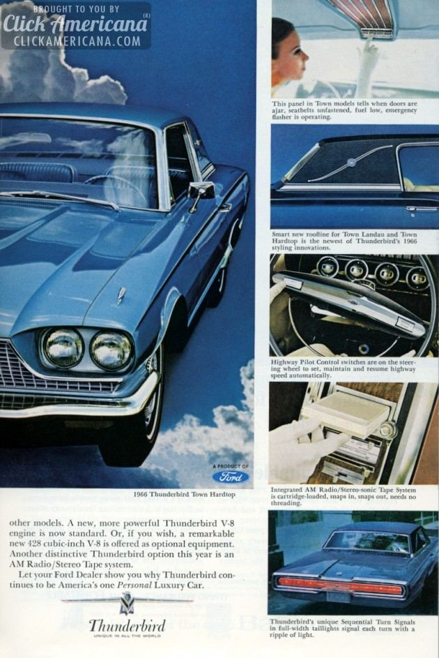 Ford Thunderbird for 1966 (3)