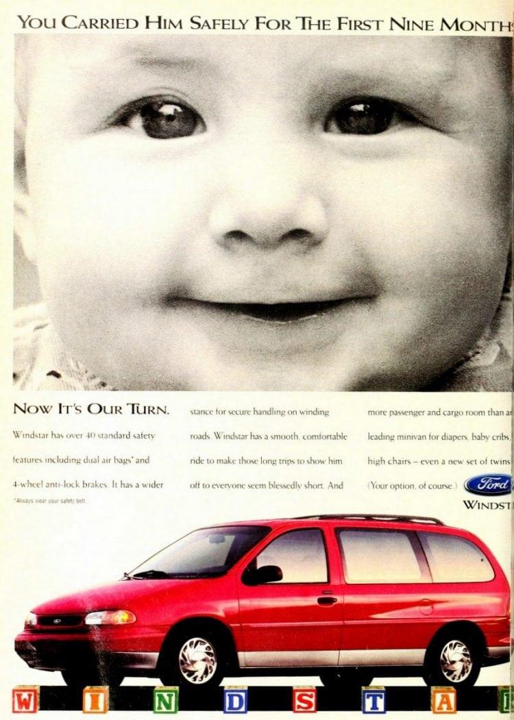 Ford Windstar minivan from 1995