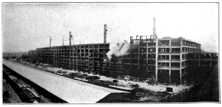 Ford auto factory in 1914 - producing Model T cars