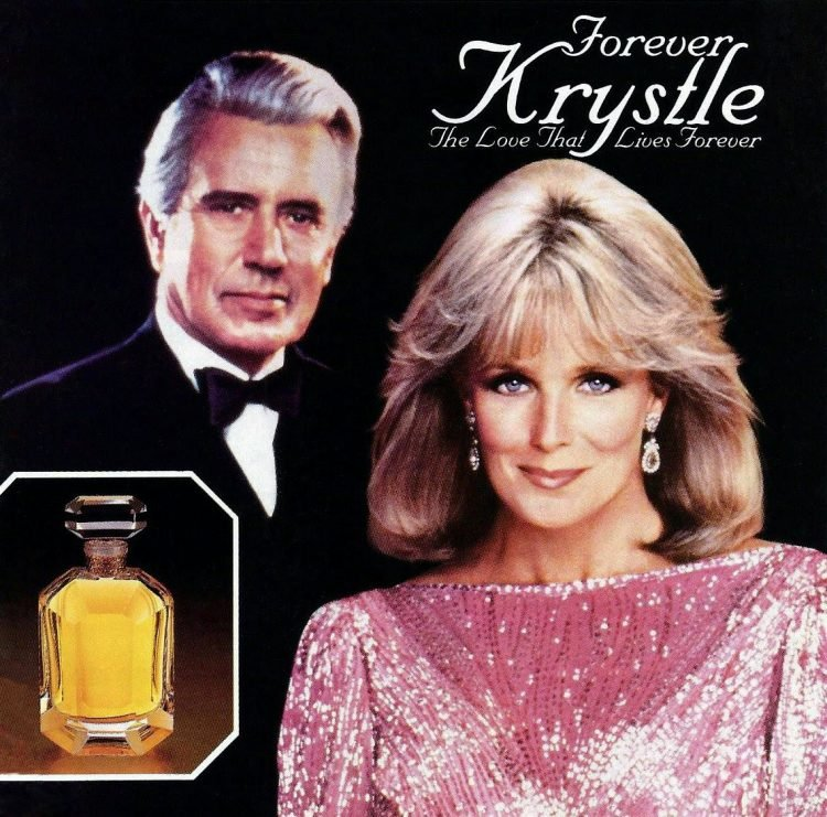 Forever Krystle perfume - 1986