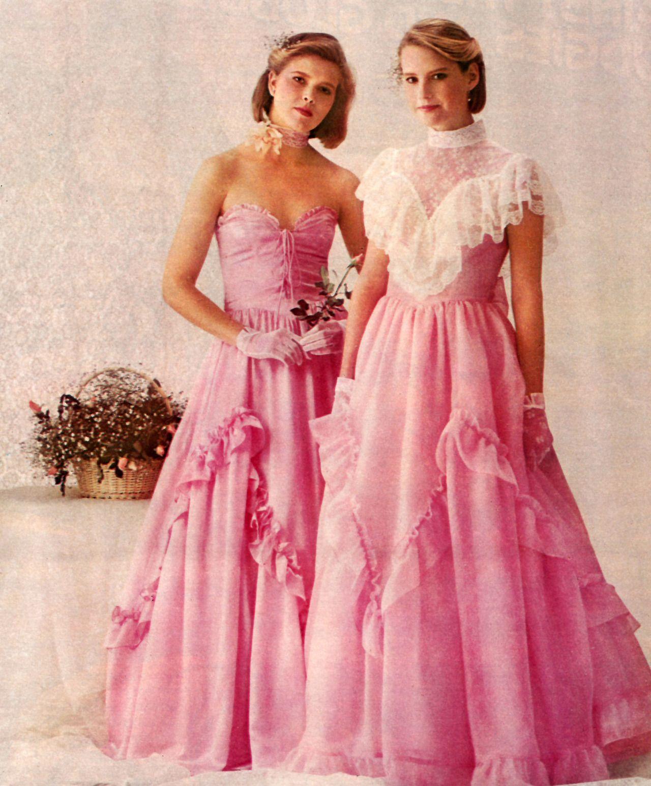 Formal dresses prom 1984