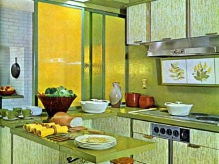 Formica kitchen for the New York World's Fair, 1964