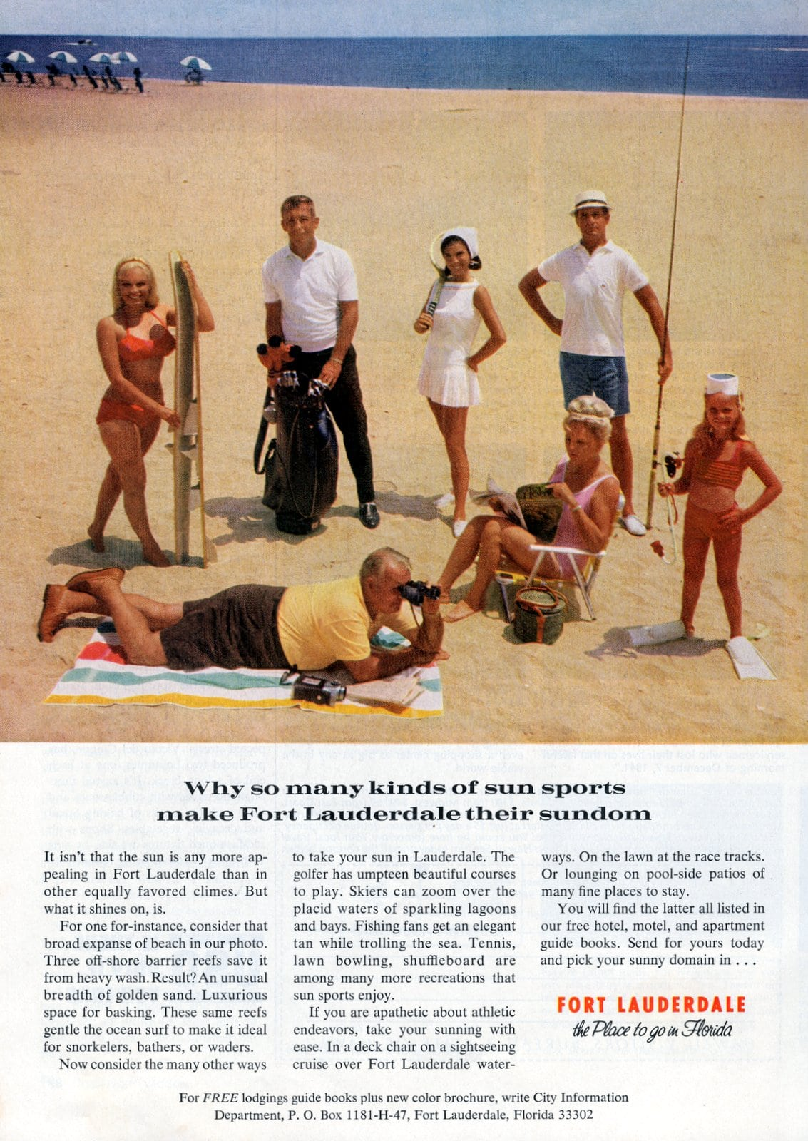 Fort Lauderdale vacations in 1967