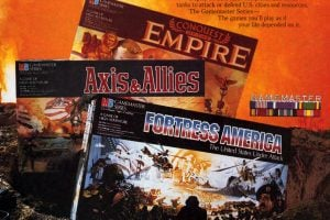 Fortress America, Axis and Allies, Conquest of the Empire games 1986