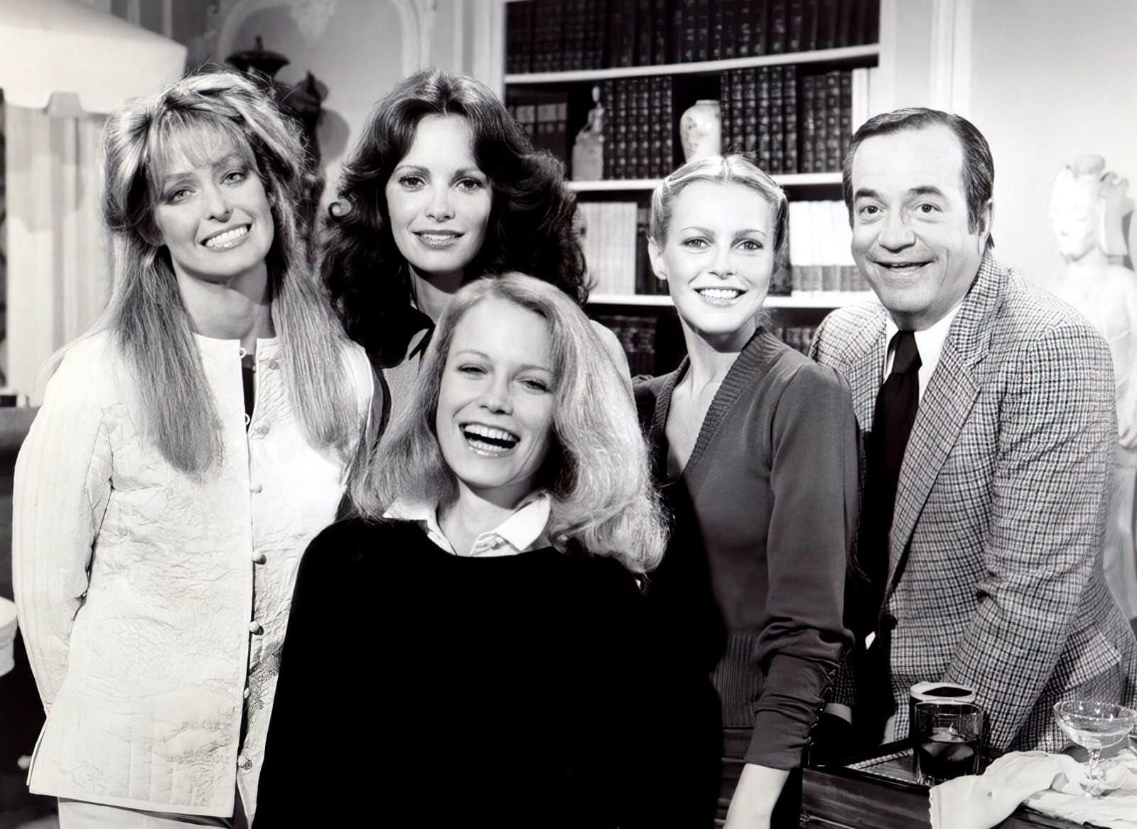 Four Charlie's Angels with Bosley - Vintage TV