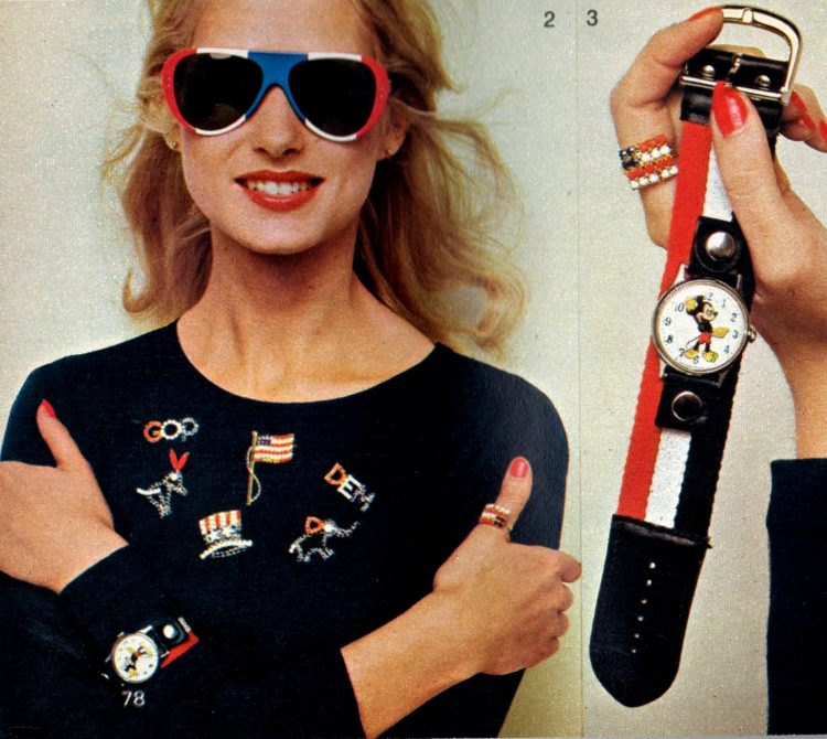 Foxy fashions and vintage accessories 1972