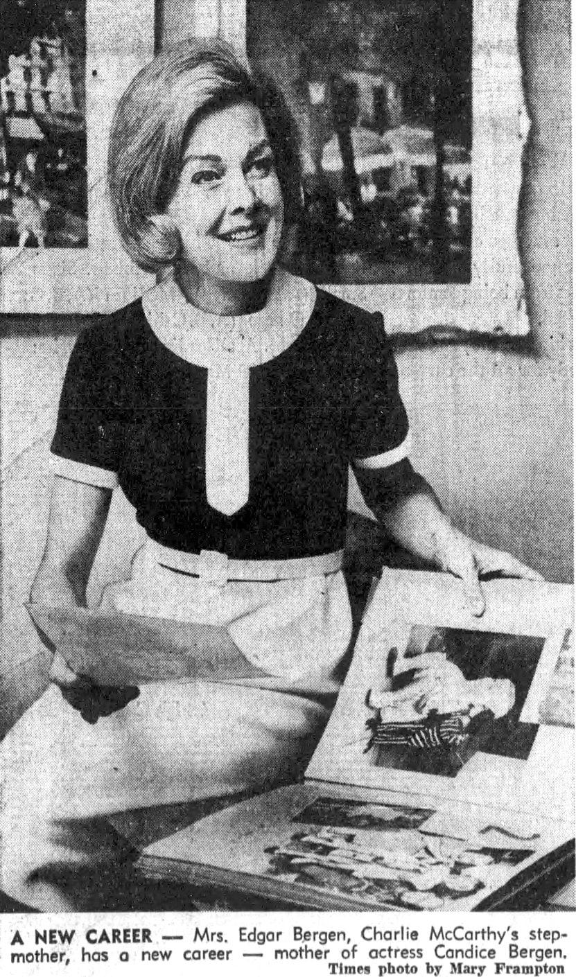 Francis Bergen in 1966