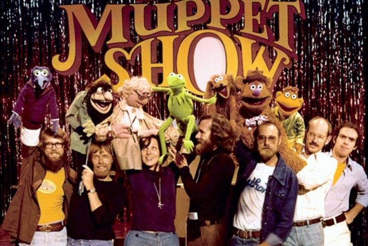 Frank Oz, Jim Henson, Dave Goelz, Richard Hunt, John Lovelady, Jerry Nelson, and Eren Ozker in The Muppet Show