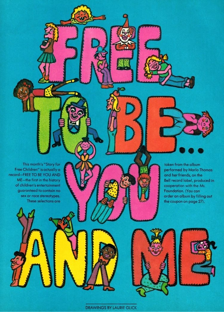 Free To Be You And Me blue