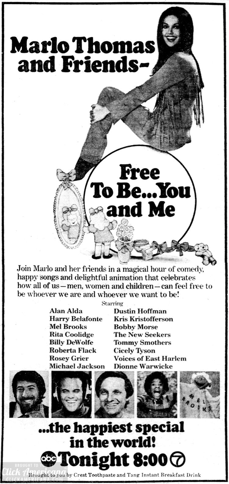 Free to Be You and Me - TV special - March 1974