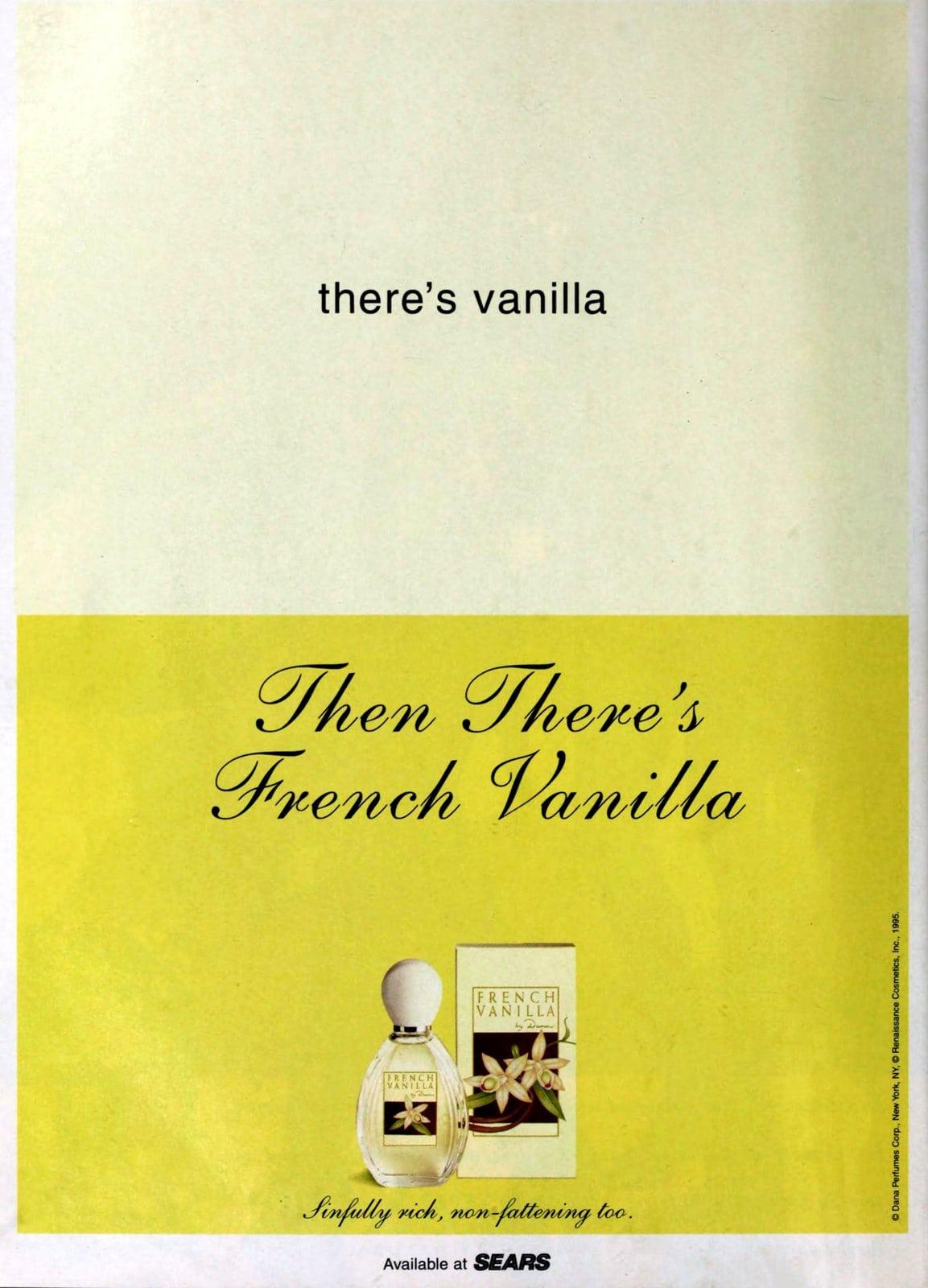 French Vanilla fragrance (1995) at ClickAmericana com