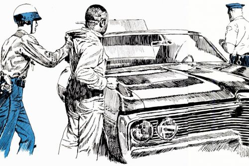 From 1968 What to do if you're arrested - a guide for African Americans