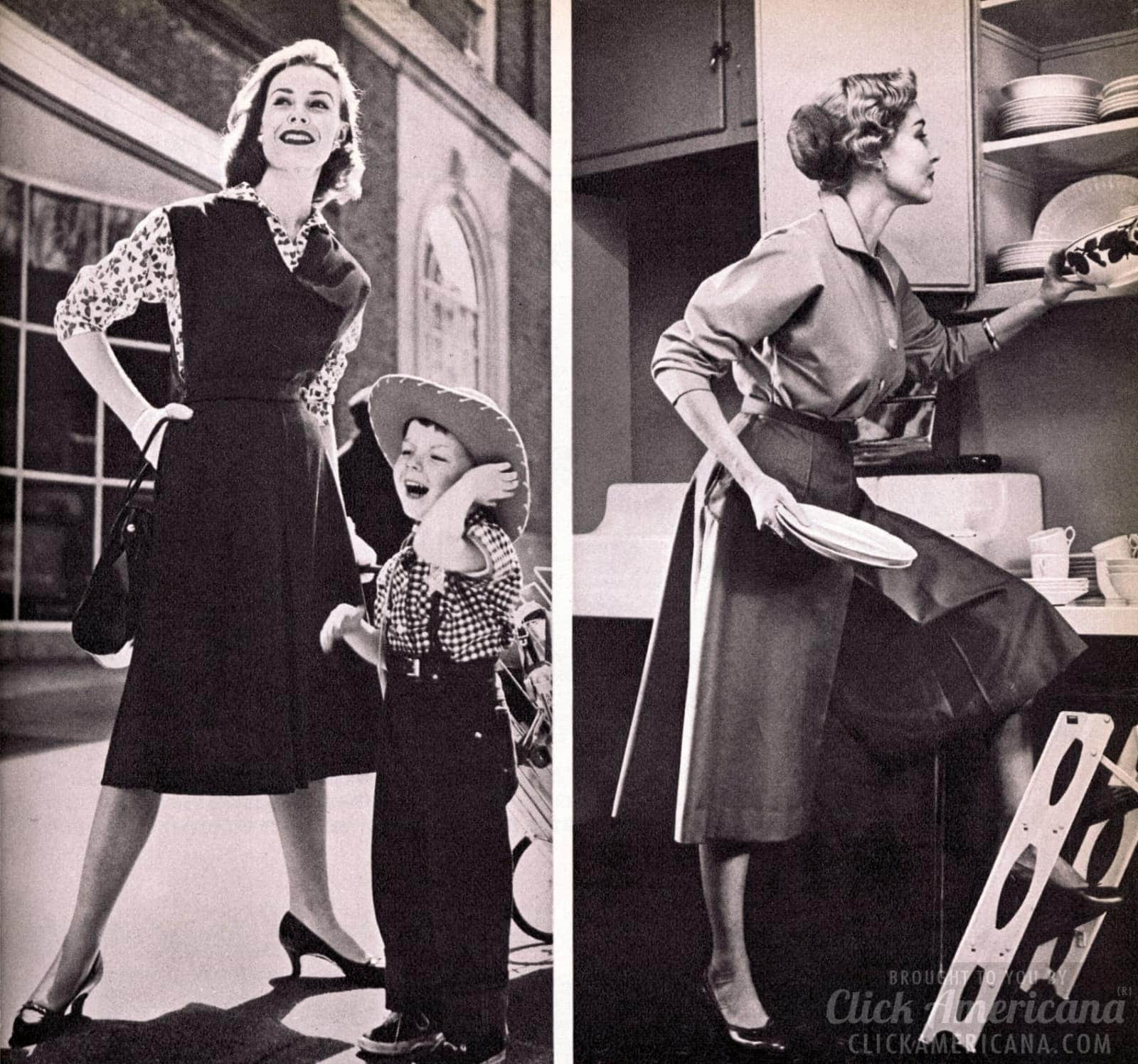 From campus to kitchen, culottes are the new '50s fashion