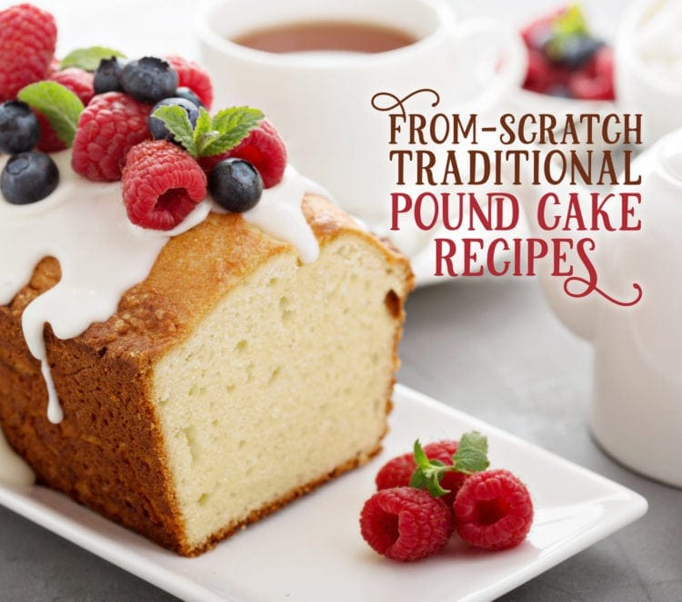 Three from-scratch traditional pound cake recipes (1920)