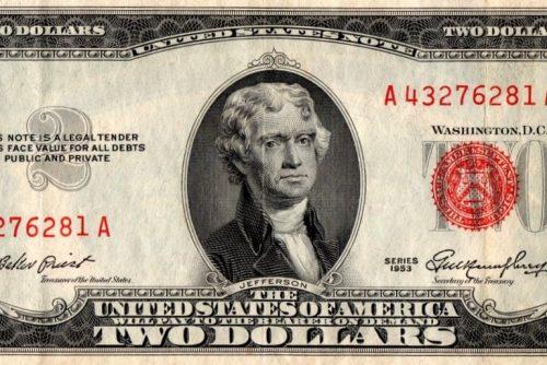 The $2 bill making a comeback (1964)