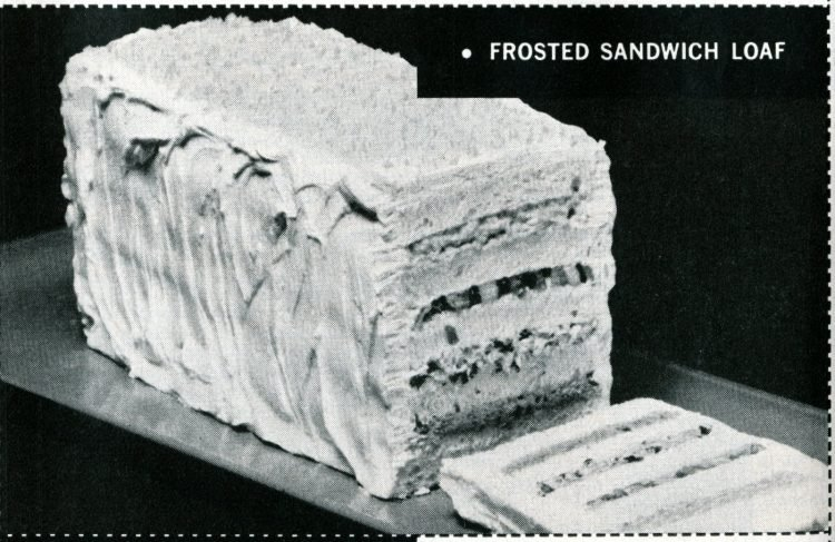Frosted layered sandwich loaf (1965)