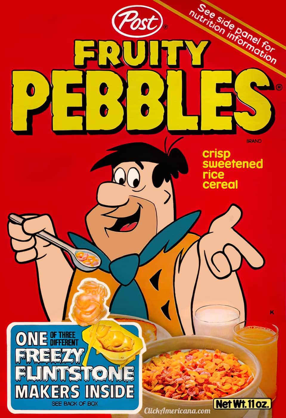 Fruity Pebbles box front (c1979)