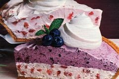 Fruity yogurt pies Strawberry Supreme Double Fruit Fantastique from 1985