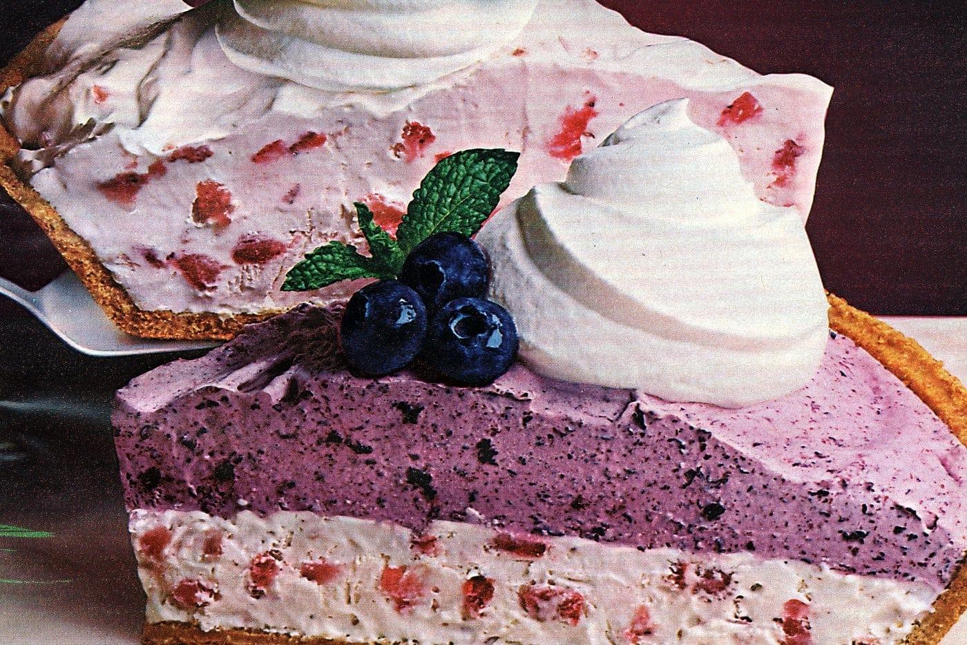 Fruity Yoplait yogurt pies Strawberry Supreme Double Fruit Fantastique from 1985