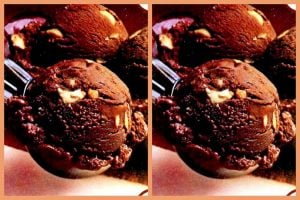 Fudgy homemade chocolate ice cream (1)