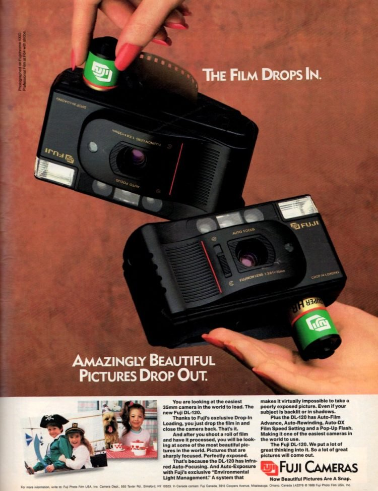 Fuji DL-120 35mm vintage camera