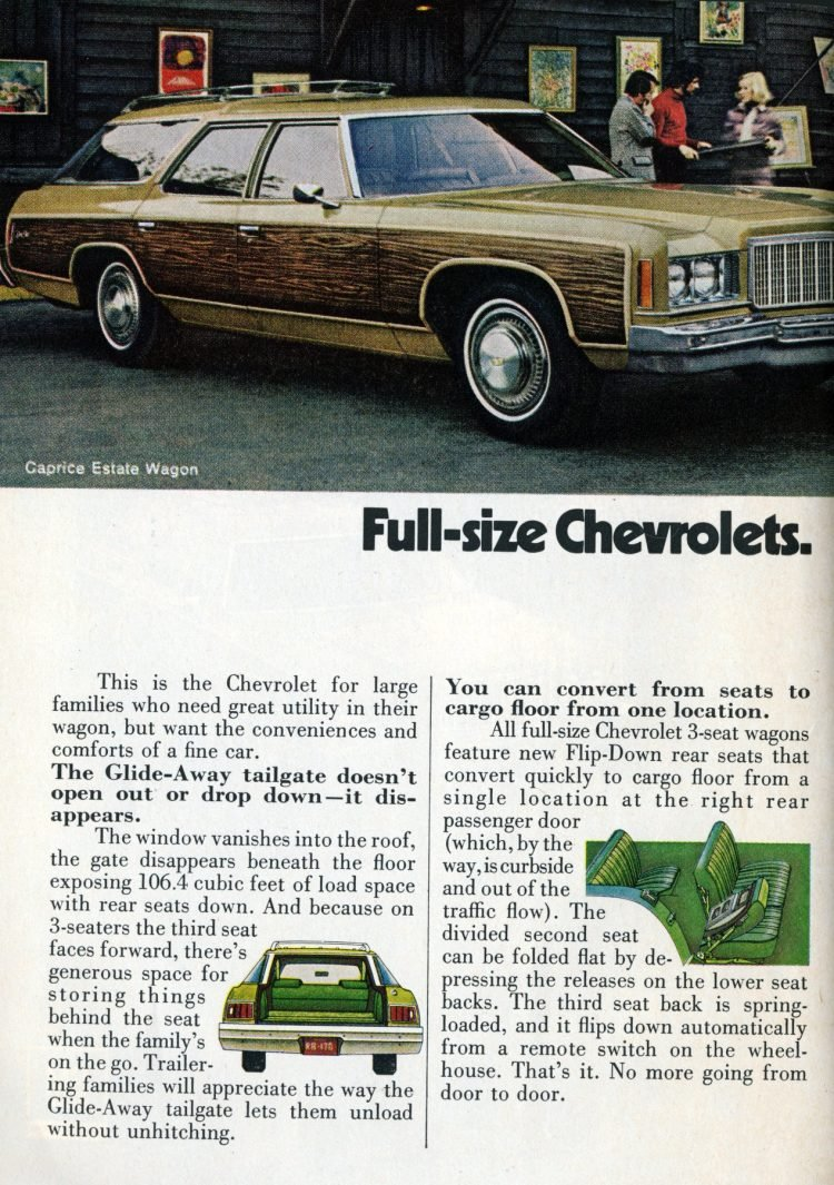 Full-size '74 Chevrolets (2)